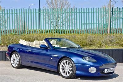 Lot 65-2004 Aston Martin DB7 Vantage Volante
