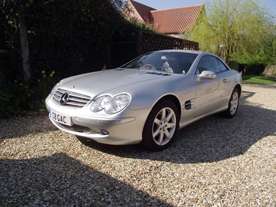 Lot 40-2003 Mercedes-Benz SL 500