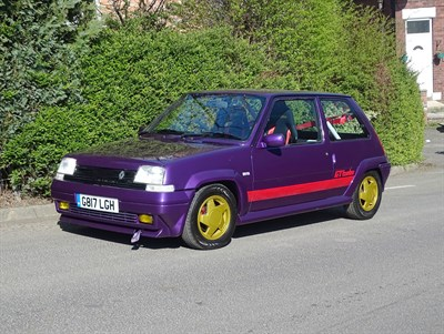 Lot 84-1989 Renault 5 GT Turbo