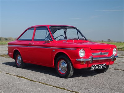 Lot 63-1968 Hillman Imp Californian