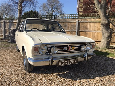 Lot 30-1967 Ford Cortina MKII 1600 E