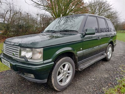 Lot 26-2000 Range Rover Vogue 4.6
