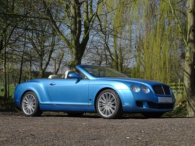 Lot 49-2010 Bentley Continental GTC Speed Series 51