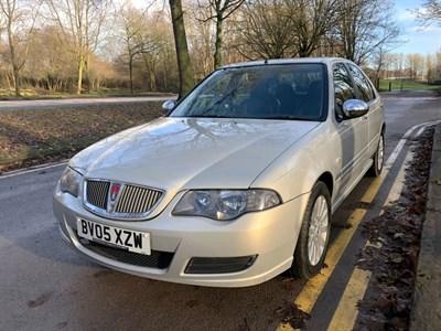 Lot 67-2005 Rover 45 1.4 GSi