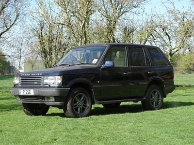 Lot 12 - 2000 Range Rover Vogue HSE