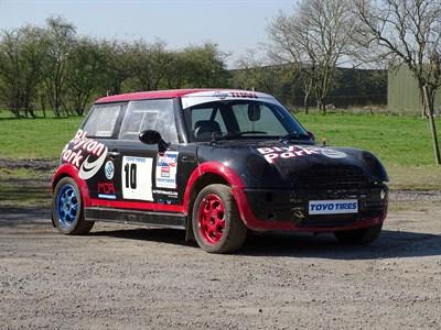 Lot 19-2002 Mini Cooper Rallycross