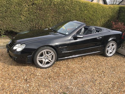 Lot 91-2004 Mercedes-Benz SL55 AMG F1