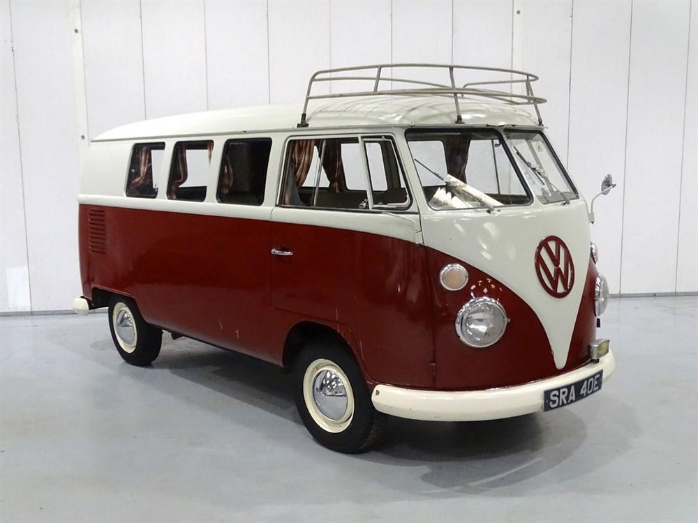 Lot 18 - 1967 Volkswagen Type 2 Canterbury Pitt 'Moto-Caravan'