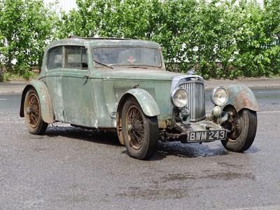 Lot 65-1936 Aston Martin MK II 1.5 Litre Sports Saloon