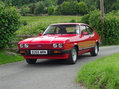 Lot 3 - 1987 Ford Capri 2.0 Laser