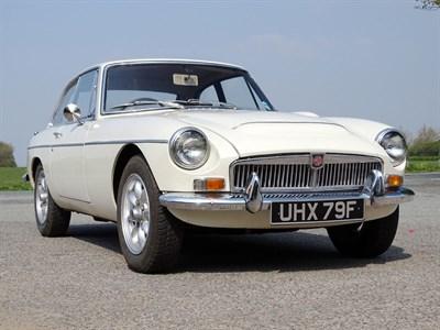 Lot 20 - 1968 MG C GT
