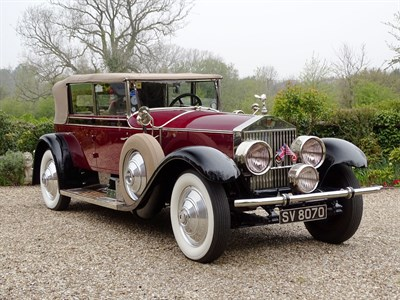 Lot 71-1927 Rolls-Royce Phantom I All-Weather Cabriolet by Murphy