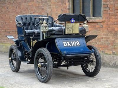 Lot 72-1901 De Dion Bouton Type G