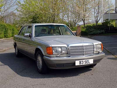 Lot 4 - 1988 Mercedes-Benz 560 SEL