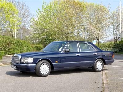 Lot 29 - 1990 Mercedes-Benz 420 SE