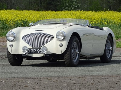Lot 49-1956 Austin-Healey 100 Modified to M Specification