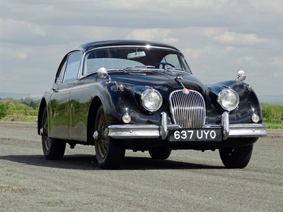 Lot 28-1959 Jaguar XK150 3.8 Litre Fixed Head Coupe Modified to S Specification