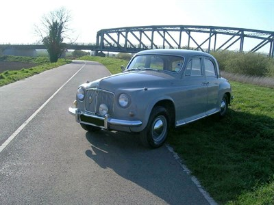 Lot 3 - 1955 Rover P4 90
