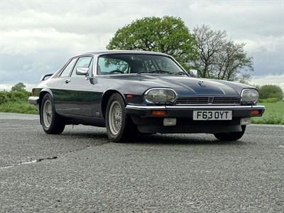 Lot 4-1988 Jaguar XJ-S 3.6