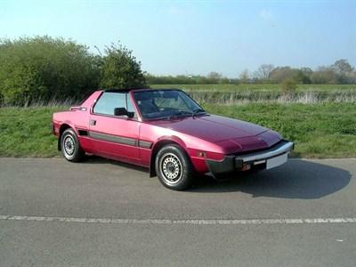 Lot 5 - 1987 Fiat X1/9 1500
