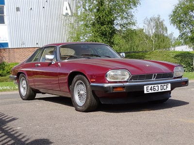 Lot 37-1987 Jaguar XJ-S 3.6