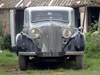 Lot 94-1937 Rolls-Royce Phantom III Sports Saloon