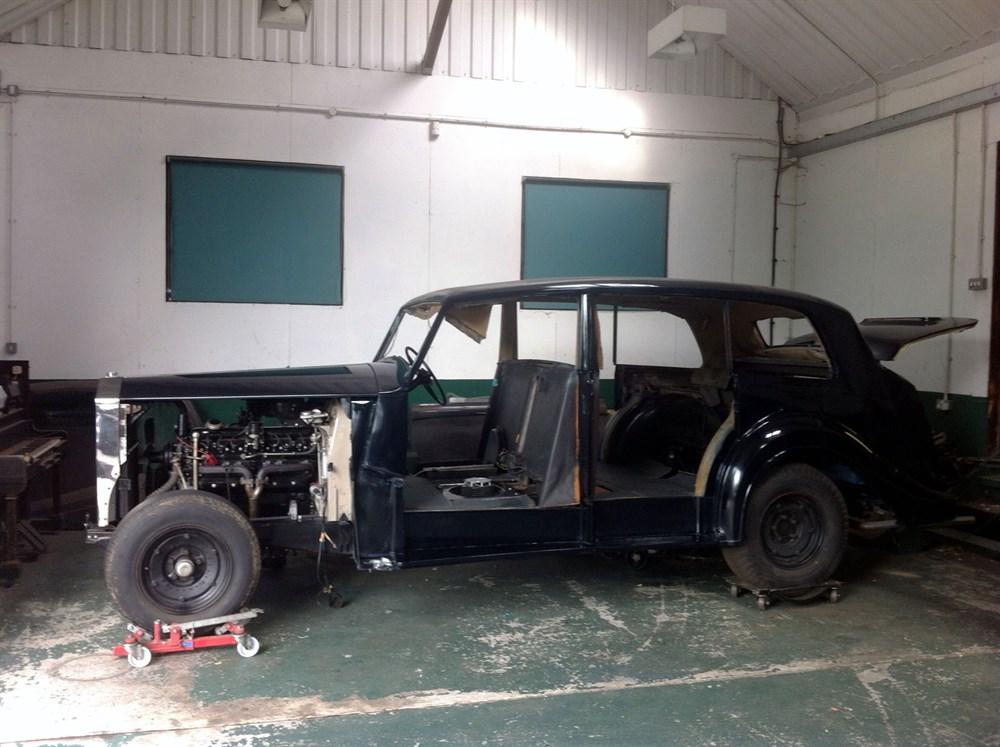 Lot 17 - 1955 Rolls-Royce Silver Wraith Limousine