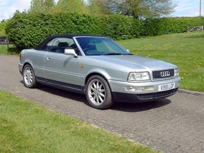 Lot 1 - 2000 Audi 80 2.8 Cabriolet 'Final Edition'