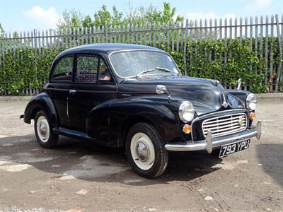 Lot 6 - 1961 Morris Minor 1000 Saloon