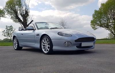 Lot 30 - 2003 Aston Martin DB7 Vantage Volante