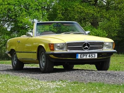 Lot 11-1973 Mercedes-Benz 350 SL
