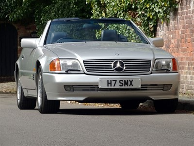 Lot 30-1990 Mercedes-Benz 500 SL ex-Sir Stirling Moss OBE