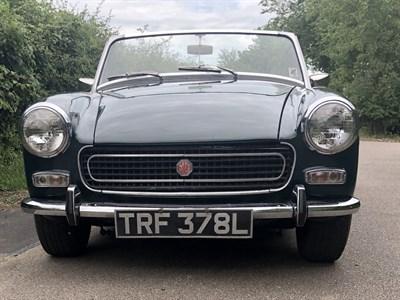 Lot 13-1972 MG Midget 1275