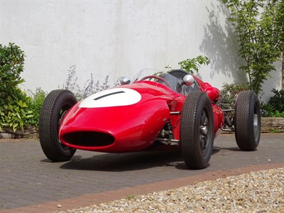 Lot 66-1960 Cooper Type 51 Single Seater