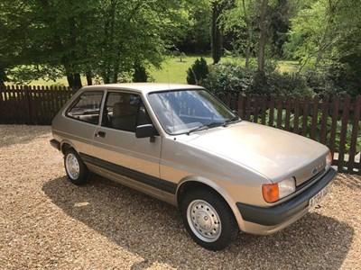 Lot 5 - 1984 Ford Fiesta 1.1 L