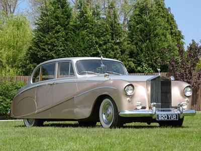 Lot 44-1956 Rolls-Royce Silver Cloud Empress by Hooper