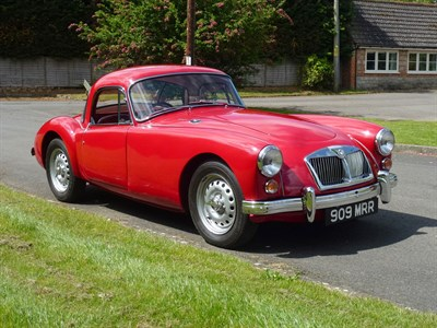 Lot 32-1962 MG A 1600 MKII Coupe De Luxe