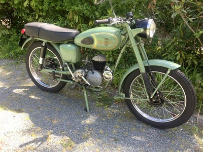 Lot 45-1956 Excelsior Courier