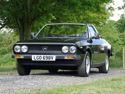 Lot 6-1979 Lancia Beta 2000 Spyder