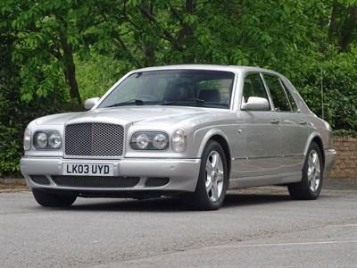 Lot 33-2003 Bentley Arnage R