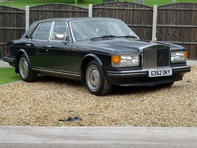 Lot 52 - 1990 Rolls-Royce Silver Spirit II