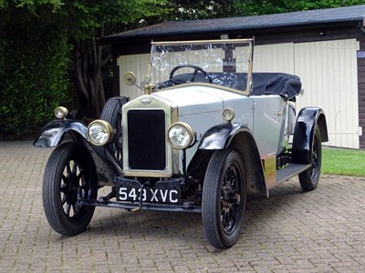 Lot 18-1924 Wolseley 11/22 Drophead Coupe