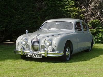 Lot 89-1957 Jaguar MK I 2.4 Litre