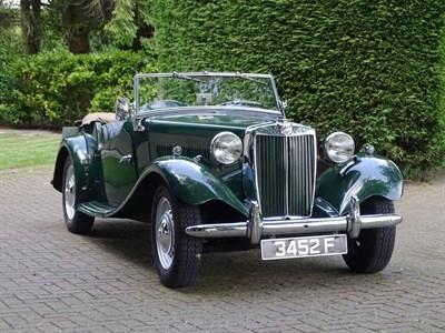 Lot 9-1953 MG TD