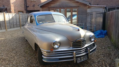 Lot 59-1948 Packard Eight Sedan