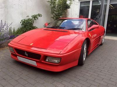 Lot 87-1992 Ferrari 348 TS