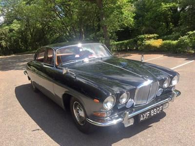 Lot 15-1968 Jaguar 420G