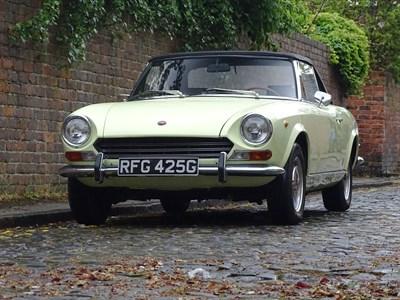 Lot 73-1969 Fiat 124 Spider