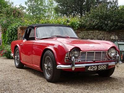Lot 35-1963 Triumph TR4