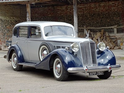 Lot 40-1937 Packard Eight Saloon